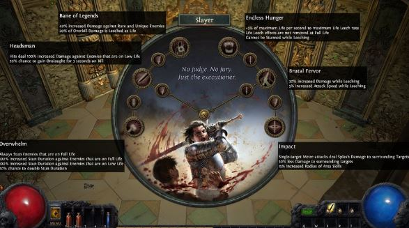 path of exile currency in skill tree